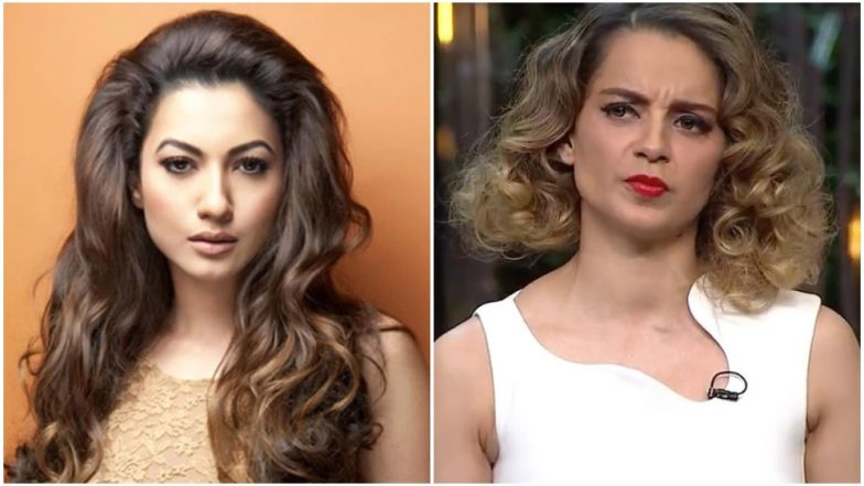 Gauhar Khan Lashes Out at Kangana Ranaut, Says '#MeToo Is for Real Women' and Calls Her 'Feminist of Convenience'