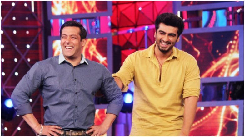 Image result for salman khan and arjun kapoor bigg boss