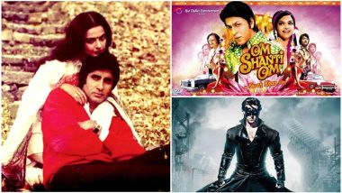 Rekha Birthday Special: Hrithik Roshan's Krrish 3, Shah Rukh Khan's Om Shanti Om - 7 Movies You Didn't Realise Brought The Eternal Diva and Amitabh Bachchan Together