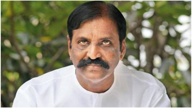 Tamil Lyricist Vairamuthu on His Sexual Harassment Allegations: I Have Been Constantly Humiliated; This Is One of Them