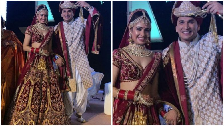 Yuvika Chaudhary and Prince Narula Pose Together as a Newly Married Couple – View Pics and Videos