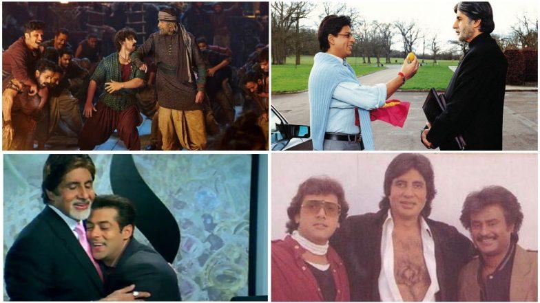 Just 12 Pictures of Amitabh Bachchan Dwarfing His Co-Stars Aamir Khan, Shah Rukh Khan, Salman Khan and Rajinikanth!