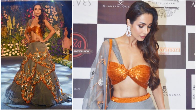 Malaika Arora Sizzles as a Modern Day Bride at the Wedding Junction Show - View Pics