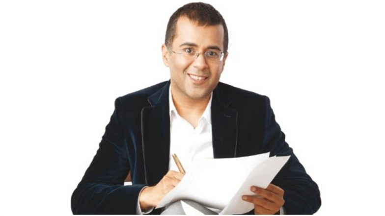 Chetan Bhagat Who Earlier Supported Tanushree Dutta Gets Accused of Harassing a Woman; Apologises for His Behaviour