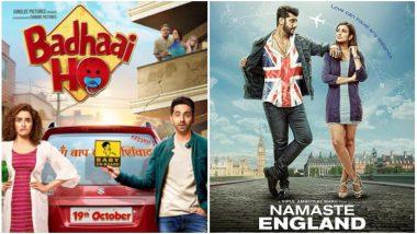 Ayushmann Khurrana's Badhaai Ho BEATS Arjun Kapoor's Namaste England at The Box Office On Day 1