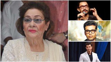 RIP Krishna Raj Kapoor: Hrithik Roshan, Karan Johar, Aamir Khan Pay Their Respects to Their 'Krishna Aunty' - Read Tweets