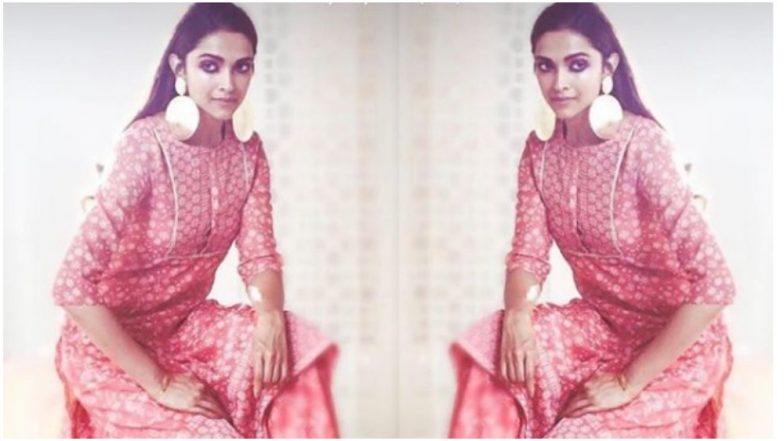 Deepika Padukone Looks 'Pretty in Pink' in This New Outfit From Her Apparel Brand - View Pic