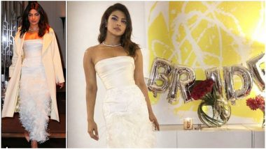 Rs 4.3 Lakhs! The Cost of Priyanka Chopra's Bridal Shower Outfit Is Enough to Host an Entire Wedding