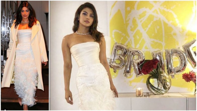 the cost of priyanka chopras bridal shower outfit is enough to host