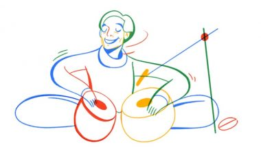 Google Honours Lachhu Maharaj, the Tabla Maestro With a Doodle on His 74th Birth Anniversary