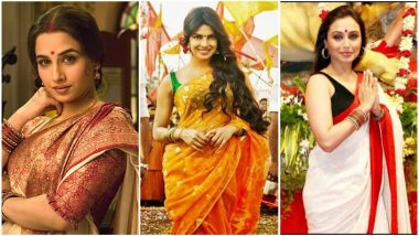 Durga Ashtami 2018: Try These Five Types of Bengali Sarees That Are Must-Have in Your Wardrobes