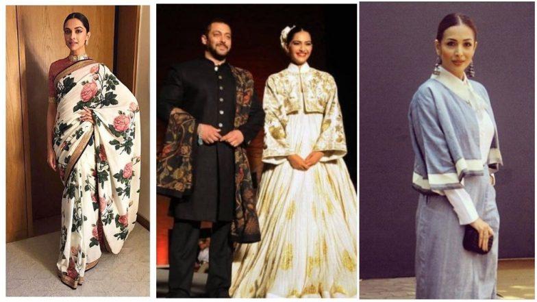 Gandhi Jayanti Special: When Malaika Arora, Salman Khan, Sonam Kapoor Gave Us a Reason to Embrace 'Khadi'