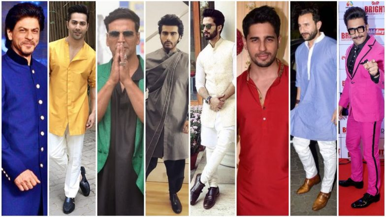 Nine Colours of Navratri 2018 List: Take Inspiration From Ranveer Singh, Sidharth Malhotra and Varun Dhawan to Wear 9 Different Colours on Each Day of Sharad Navaratri