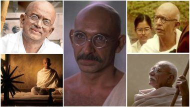 Gandhi Jayanthi Special: Ben Kingsley in Gandhi, Naseeruddin Shah in Hey Ram! - 10 Actors Who Memorably Portrayed 'Father of Our Nation' in Films
