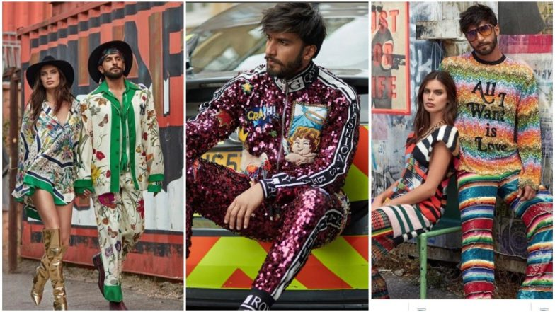 Ranveer Singh's New Photoshoot With Sara Sampaio Is As Colourful As His Personality – View All Pics