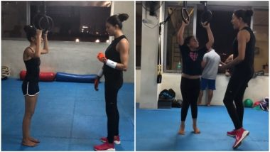 Sushmita Sen's Workout Video With Renee and Alisah Is the Perfect Way to End Your Lazy Sunday - Watch Video