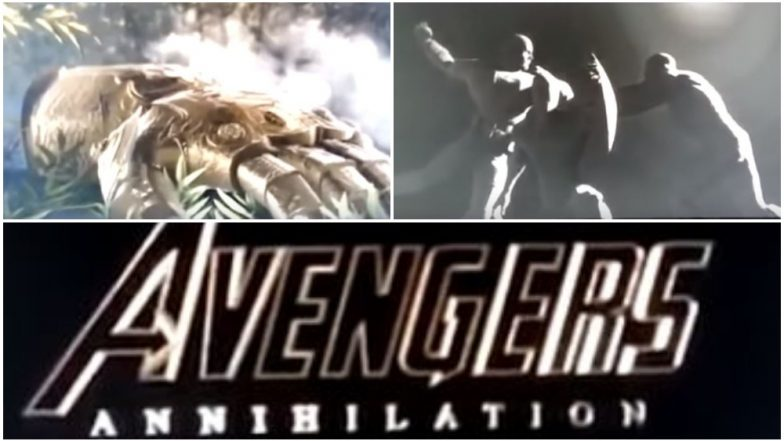 Avengers 4 Teaser LEAKED, Confirms Title as Annihilation - Real or Fake? Watch Video