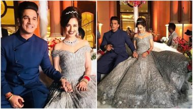 Prince Narula and Yuvika Chaudhary's Chandigarh Reception Was Nothing Less Than a Fairytale- Watch Pics and Videos