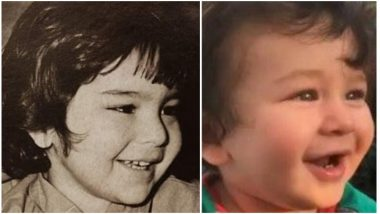 Don't Mistake This Baby to Be Taimur Ali Khan! It's Actually His Father Saif Ali Khan – View Pic