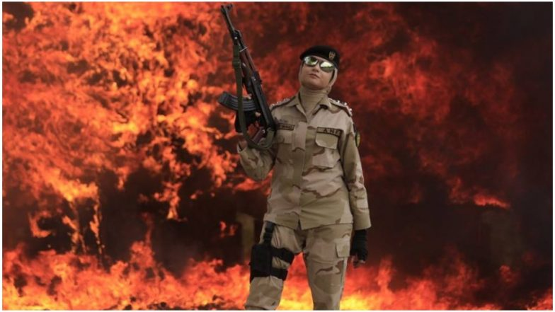 Photos of Female Officers From Pakistan's Anti Narcotic Force Posing in Front of Drugs They Seized and Burnt Goes Viral