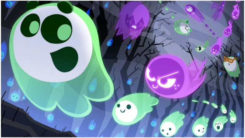 Halloween 2018 Google Doodle Multiplayer Game 'Great Ghoul Duel' Is Spooky! Know How to Play and Collect Spirit Flames