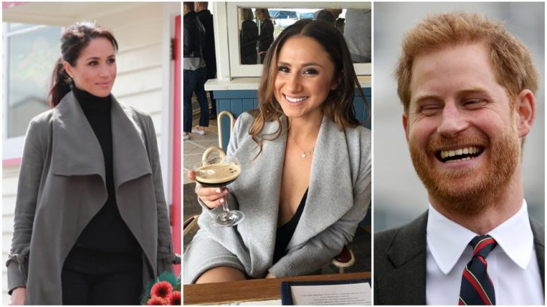 Meghan beats Prince Harry at gumboot throwing competition