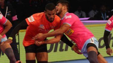 PKL 2018 Video Highlights: U Mumba Defeats Jaipur Pink Panthers in a Nail-Biting Thriller