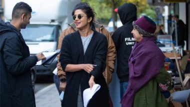 Priyanka Chopra Kickstarts The Sky is Pink's London Schedule, Breaks Coconut in One Go! (Watch Video)