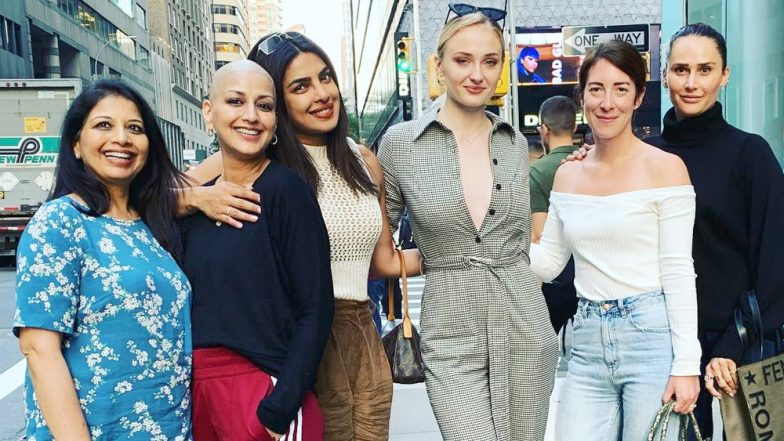 Priyanka Chopra, Sonali Bendre and Sophie Turner's Latest Pic Together Proves That Happy Girls Are The Prettiest