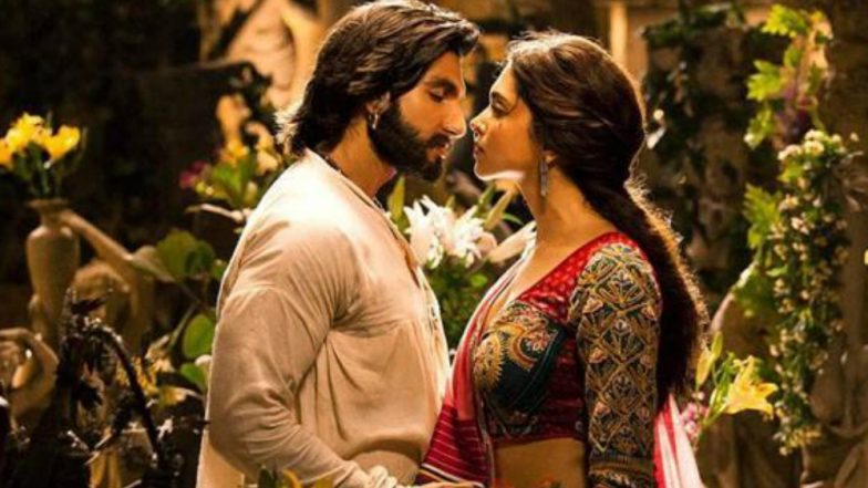 Navratri 2018 Song Of The Day: Ranveer Singh and Deepika Padukone's Crackling Chemistry Will Make Your Heart Race With Excitement!
