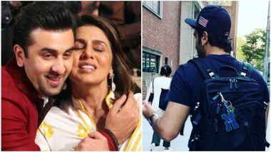 As Rishi Kapoor Continues to Battle His Illness, Ranbir Is Neetu Singh's STRENGTH in This Time of Trouble – View Pic