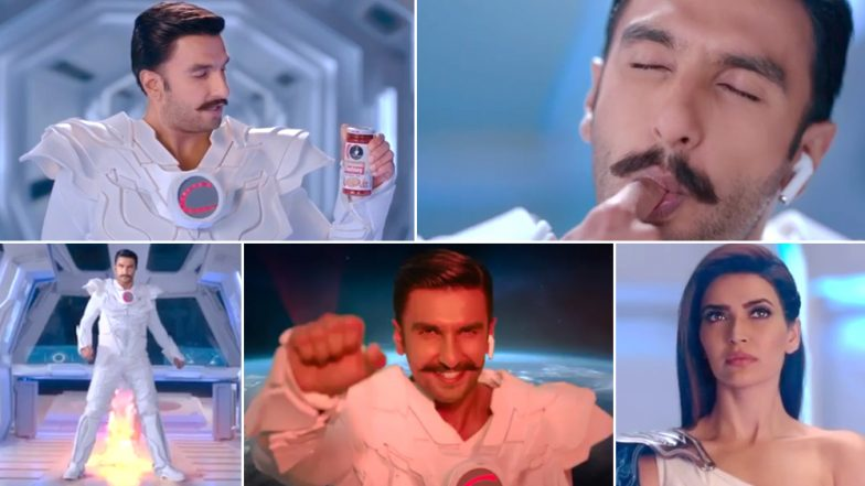 Ranveer Singh as Superhero Captain Ching is Utterly ABSURD AF in This Ad Directed by Ali Abbas Zafar - Watch Video