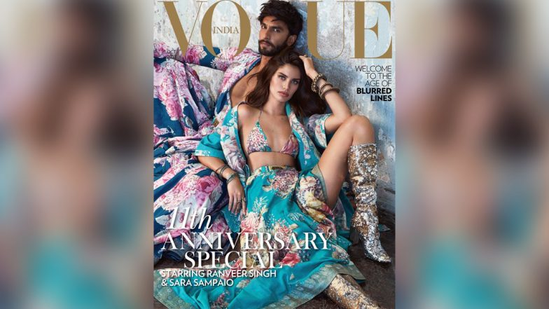 Ranveer Singh's Hot Mag Cover With Sara Sampaio Will Be the Talk of the Town [View Pic]