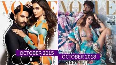 Ranveer Singh With Deepika Padukone or With Sara Sampaio: Which Vogue India Cover Impressed You More? Vote
