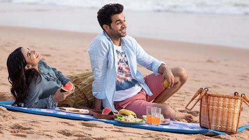 Raj Kumar Rao and Patrelekha Enjoy Sun & Sand in Goa! View Pic