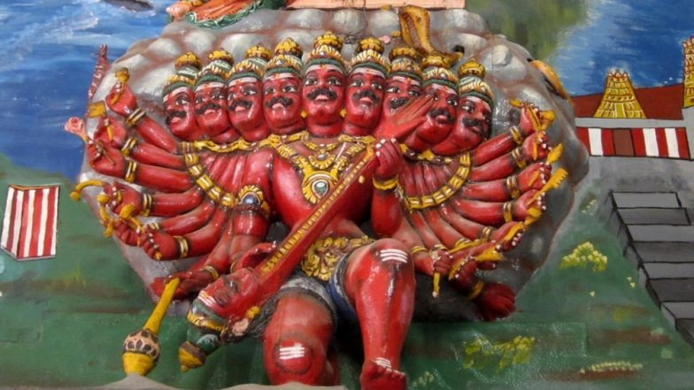 Dussehra 2018: Why Is Ravana, The Ten-Headed Demon King Worshipped in Some Parts of India?