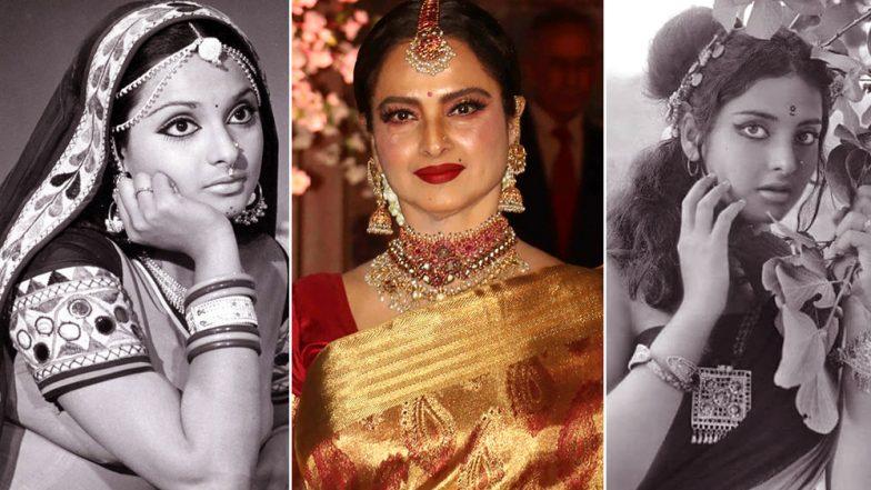 Happy Birthday Rekha! 5 Throwback Pics of The Actress That Spell B.E.A.U.T.I.F.U.L