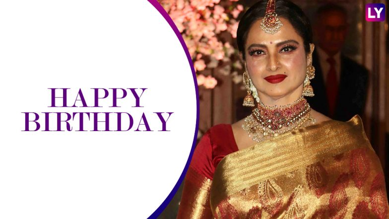 Happy Birthday Rekha: 5 Facts About The Actor, We Bet You