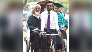 Photo of Engineering Graduate Hisamuddin Khan Riding His Parents on Father's Rickshaw After Convocation Goes Viral!