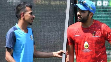 After Ritika Sajdeh Yuzvendra Chahal's Presence With Rohit Sharma 'Worries' Aesha Dhawan; Check Out the Funny Banter on Instagram