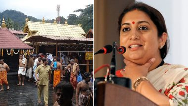 Smriti Irani's Remark on Women's Entry Into Sabarimala Temple: Struggling to Make Sense of The Bizarre 'Basic Common Sense'