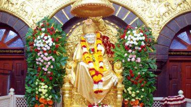 Shirdi Sai Baba 100th Maha Samadhi Celebrations: Temple Gets Rs 5.97 Crore As Donations During Three-Day Festival