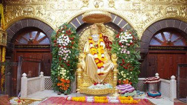 Sai Baba Maha Samadhi Day 2018 Live Streaming: Aarti, Darshan And Celebrations at Shirdi Sai Baba Temple