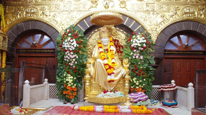 Sai Baba Maha Samadhi Day 2018 Live Streaming: Watch Online Telecast of Aarti, Darshan And Celebrations From Shirdi Sai Baba Temple
