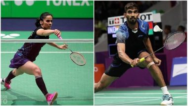 Saina Nehwal, Kidambi Srikanth Won't Compete in Tokyo Olympic 2020 Games As Qualifiers End Due to COVID-19 Pandemic