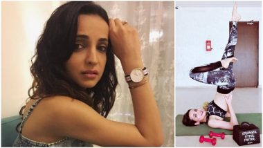 Sanaya Irani Sweats It Out at Physical Fitness Center; Gives Us Major Workout Goals – View Pic