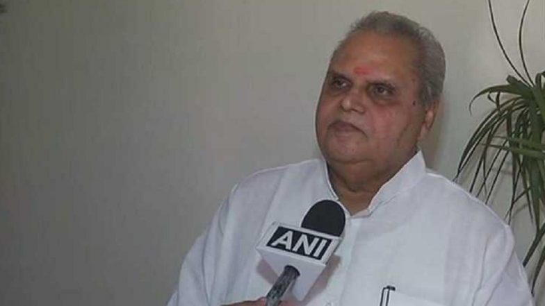 Jammu and Kashmir Governor Satya Pal Malik Assures J&K People That Abrogation of Article 370 Has Not Tampered With Their Identity But Opened New Doors For Development