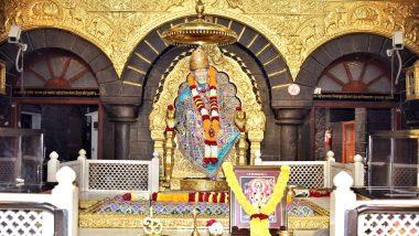 Shirdi Sai Baba 100th Maha Samadhi Day: Schedule of Celebrations at Sai Baba Temple in Shirdi From October 17 to 19