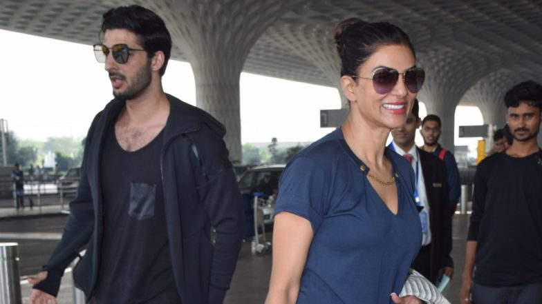 Sushmita Sen's Family Is Seemingly Fond of Her Boyfriend Rohman Shawl and This Video is Proof of It