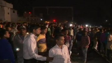 Amritsar Train Accident: Several Watching Ravan Dahan at Joda Phatak Run Over by Train, At Least 60 Feared Dead
